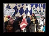 لليوم الثانى .. معرض منتجات جامعة بنها يشهد اقبالاً من المواطنين
