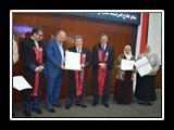 جامعة بنها تكرم علمائها المتميزين بإحتفالية يوم التميز العلمي الرابع