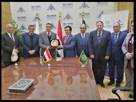 تعاون بين جامعة بنها والمنظمة العربية للتنمية الإدارية