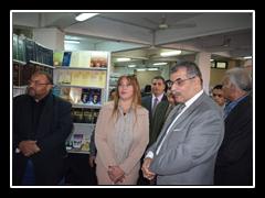 المغربي يفتتح معرضاً يضم 30 ألف كتاب بحقوق بنها