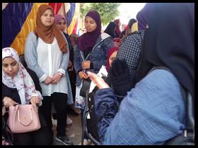 تقرير مصور عن مشاركة جامعة بنها فى التعديلات الدستورية