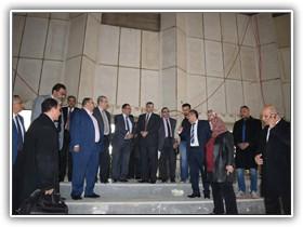 فى أول اجتماع لعمداء جامعة بنها بمدينة العبور: فرع دولي لجامعة بنها على أرض العبور