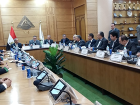 بروتوكول تعاون بين جامعة بنها ووكالة الفضاء المصرية