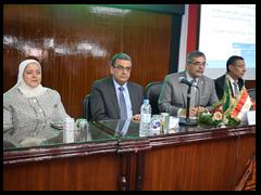 جامعة بنها تنظم لقاءاً تعريفياً عن برامجها الجديدة .. المغربى: إطار مؤسسي شامل لجميع البرامج بالجامعة لخدمة سوق العمل