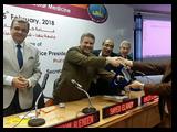 فى مؤتمر قلب بنها  القاضى: سعداء بإقبال المواطنين على مستشفيات جامعة بنها
