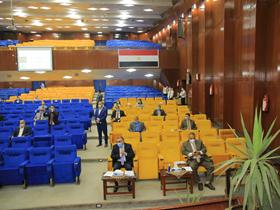 المجلس الأعلى لشئون التعليم والطلاب يعقد اجتماعه بجامعة بنها