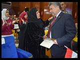 في إحتفالية كبري بجامعة بنها تكريم 74 من أمهات الشهداء والأمهات المثاليات والعاملين