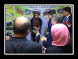 إفتتاح معرض منتجات جامعة بنها