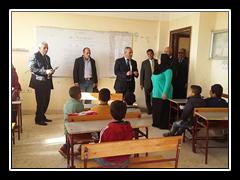 إقبال كبير من أهالى قرية كفر بطا على قافلة جامعة بنها الشاملة