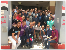 بمشاركة 280 طالبا وعضو هئية تدريس: انطلاق نموذج محاكاة معهد إعداد القادة بجامعة بنها