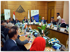 شراكة استراتيجية بين جامعة بنها والبنك الأهلي المصري