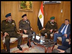 لأول مرة في جامعة بنها: بروتوكول تعاون مع أكاديمية ناصر العسكرية لتوعية الطلاب والعاملين بأهمية الأمن القومي المصري