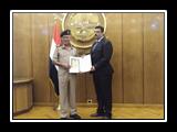أداء متميز لممثلى جامعة بنها بأكاديمية ناصر العسكرية العليا