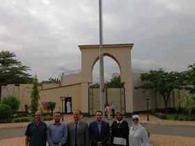 وفد جامعة بنها في لقاء مع لجنة الجامعات الوطنية النيجيرية وفي ضيافة السفارة المصرية في أبوجا