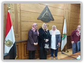 «السعيد» يشهد تكريم أمين عام جامعة بنها