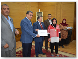 تكريم طلاب جامعة بنها الفائزين بمسابقات الجامعات المصرية