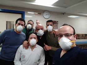 جامعة بنها تشكر الفريق الطبى المشارك فى اعمال الحجر الصحى بقها