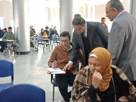 «السعيد» يتفقد الإمتحانات ومنشآت فرع جامعة بنها بالعبور