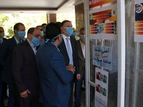 رئيس جامعة بنها يتفقد وحدة التعقيم بهندسة شبرا