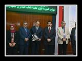 محافظ القليوبية ورئيس جامعة بنها يشهدان افتتاح المؤتمر الأول للجودة بطب بنها