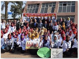 بمشاركة 160 طالبه من كليات جامعة بنها: المغربي يفتتح المهرجان الإرشادي الثامن للجوالات