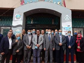 خلال افتتاحه عدد من الأقسام الطبية .. «السعيد»: حريصون على تطوير المستشفى الجامعي دون توقف للخدمة الصحية