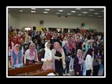 المغربي يشارك في استقبال طلاب كليات جامعة بنها في أول يوم دراسي