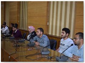 المغربى فى أول لقاء باتحاد طلاب الجامعة: كل الدعم لإتحاد طلاب جامعة بنها