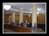 القاضي يستقبل مديرة العلاقات الدوليه بجامعة هلسنكي الفنلنديه