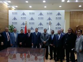 رئيس جامعة بنها يستقبل رئيس مجلس إدارة مؤسسة الأهرام لبحث سبل التعاون