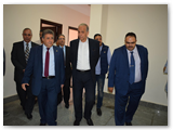 القاضي وعشماوي يزوران المستشفي الجامعي ببنها