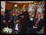 زيارة الكنيسه الانجيليه ببنها لتهنئه الاخوه المسيحين بأعياد الميلاد المجيد