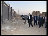 في جولة لمباني جامعة بنها بمدينة العبور القاضي: نعمل علي حماية المال العام واستكمال المشروعات المتوقفة