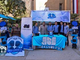 المغربي يتفقد المستشفى الجامعي ويشيد بالنشاط الطلابي في كلية الطب
