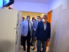 محافظ القليوبية ورئيس جامعة بنها يتفقدان المدن الجامعية استعدادا لاستقبال المصريين العائدين من الخارج