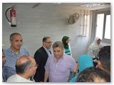 في أول أيام العيد القاضي يفاجئ المستشفى الجامعي بجولته
