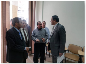 رئيس جامعة بنها فى جولة بهندسة شبرا ويتفقد عدد من المراكز والوحدات بمجمع الكليات