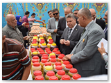 معرض مستلزمات رمضان من جامعة بنها