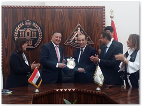 لمزيدا من المشاركة المجتمعية: بروتوكول تعاون بين جامعة بنها و«روتاري» مصر