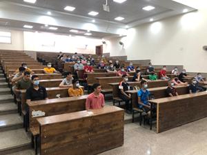 نائب رئيس جامعة بنها لشئون التعليم والطلاب يتفقد أول أيام اختبارات القدرات بالكليات