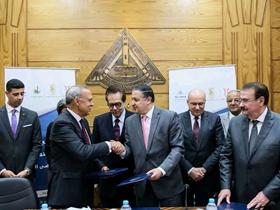 «الهجان» و«السعيد»: يوقعان مشروع إنشاء وتجهيز مستشفى جامعة بنها التخصصى الجديد