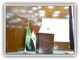 قاعة الإحتفلات الكبرى بكلية التجارة - جامعة بنها