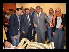 تنفيذا للمبادرة الرئاسية لإختيار أفضل جامعة مصرية: لجنة تقييم أداء الجامعات تزور بنها  وتتفقد الكليات والمدينة الجامعية ومستشفى الرمد وتشيد بمشاركة الطلاب فى الاستعدادات.