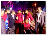 رئيس جامعة بنها في إفتتاح فعاليات أسبوع شباب الجامعات الأول لمتحدي الإعاقة بجامعة إلمنيا