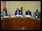 لجنة إعداد بروتوكول إنشاء المستشفى الجامعى الجديد :عقدت أمس