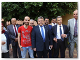 القاضى فى ندوة «المشروعات القومية العملاقة بهندسة شبرا»: على الشباب أن يدافع عن إنجازات الوطن