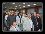 القاضي يطالب طب بيطري بنها بعمل دورات مجانيه للجزارين