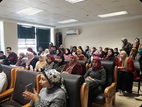 ورشة عمل بنك المعرفة المصري بكلية الفنون التطبيقية
