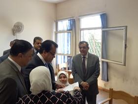 فى زيارة مفاجئة .. وزير التعليم العالى يتفقد سير أعمال الامتحانات بجامعة بنها