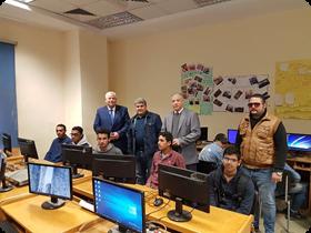ضمن مبادرة «صنايعية مصر»: التدريب علي أعمال الحياكة والتفصيل والحاسب الألي وأعمال التصنيع بكليات جامعة بنها